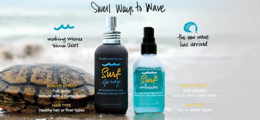 Spray z solą morską do włosów