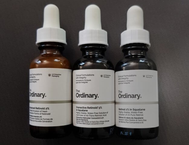 Serum z retinolem/retinoidami - kosmetyki The Ordinary
