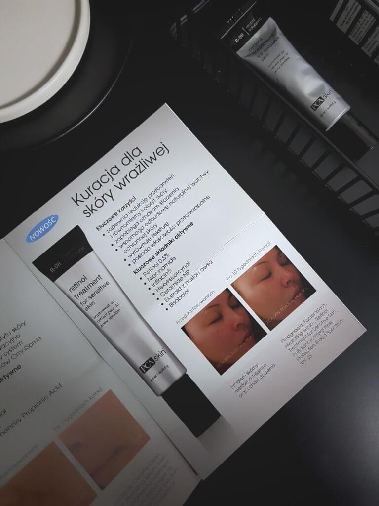 Retinol dla skóry wrażliwej PCA Skin