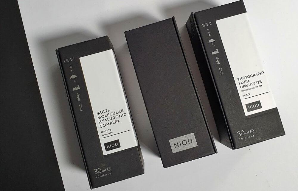 Kosmetyki Niod - mocne nawilżenie i rozświetlenie cery