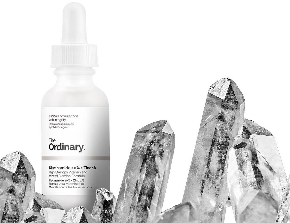 Kosmetyki z niacynamidem