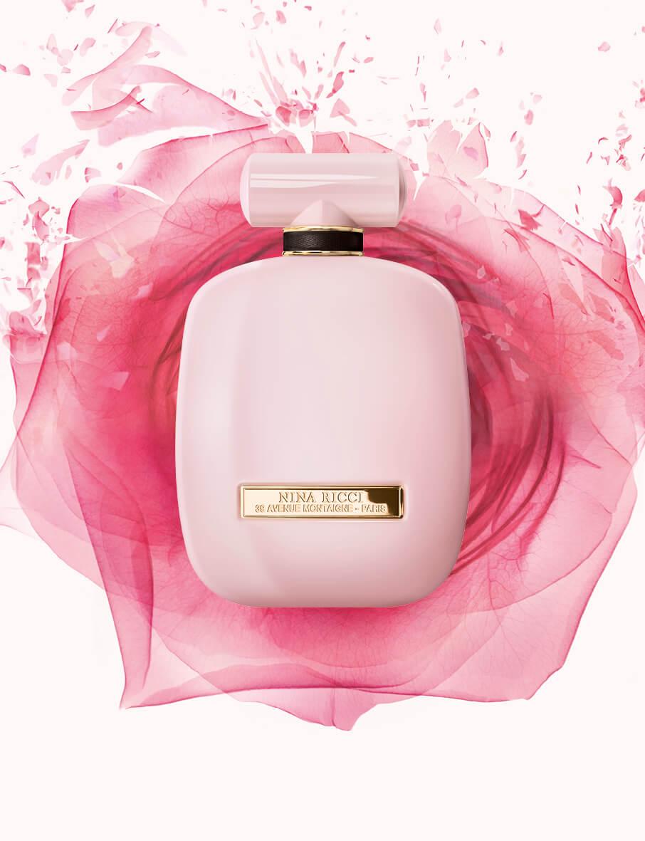 Perfumy z różą Nina Ricci