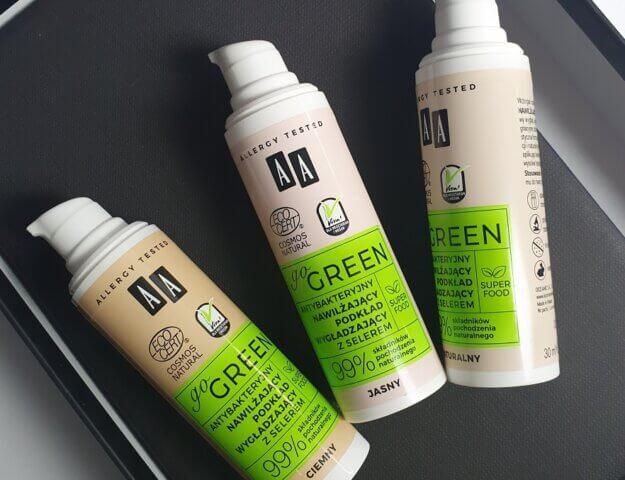 Podkład AA GO GREEN - wegański, naturalny i niezwykle trwały