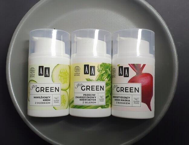 Kosmetyki AA Go Green - skóra na diecie wegańskiej