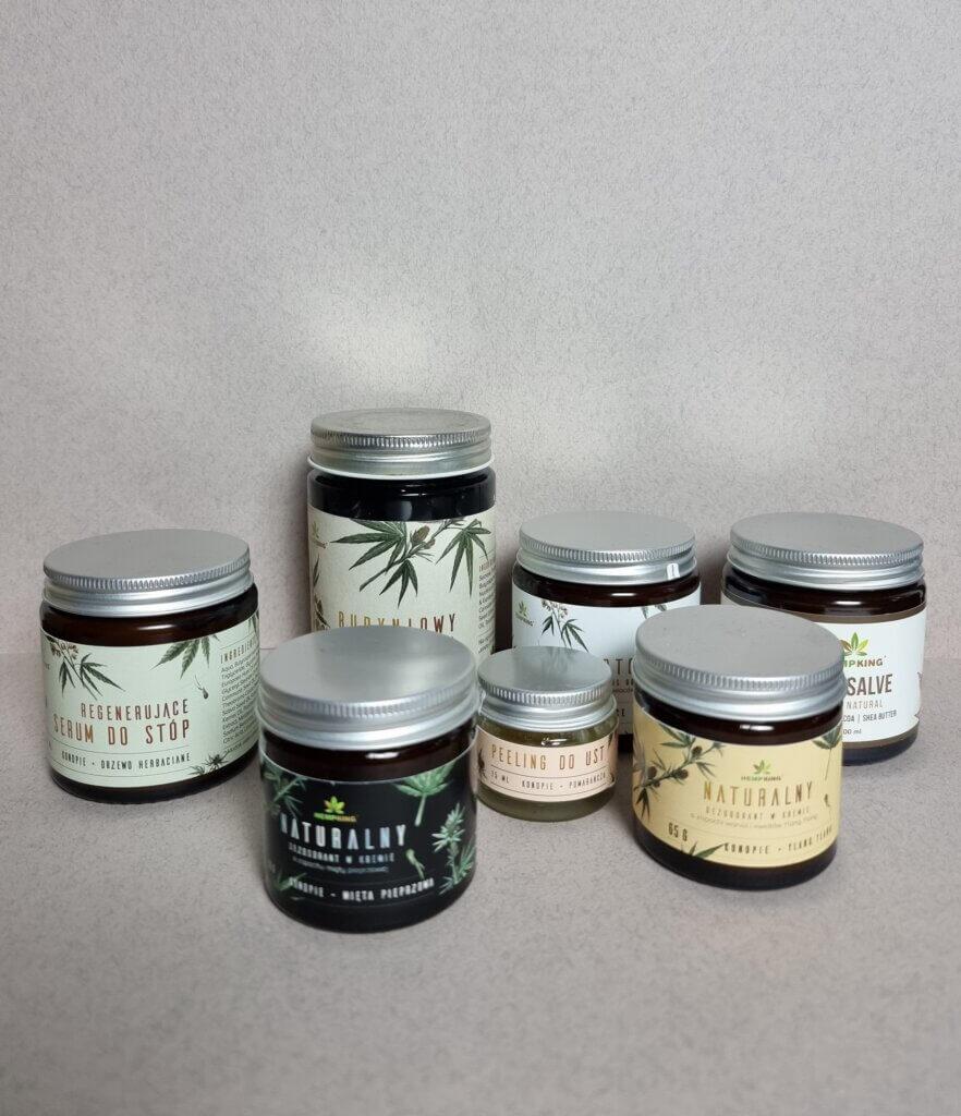Kosmetyki konopne z CBD