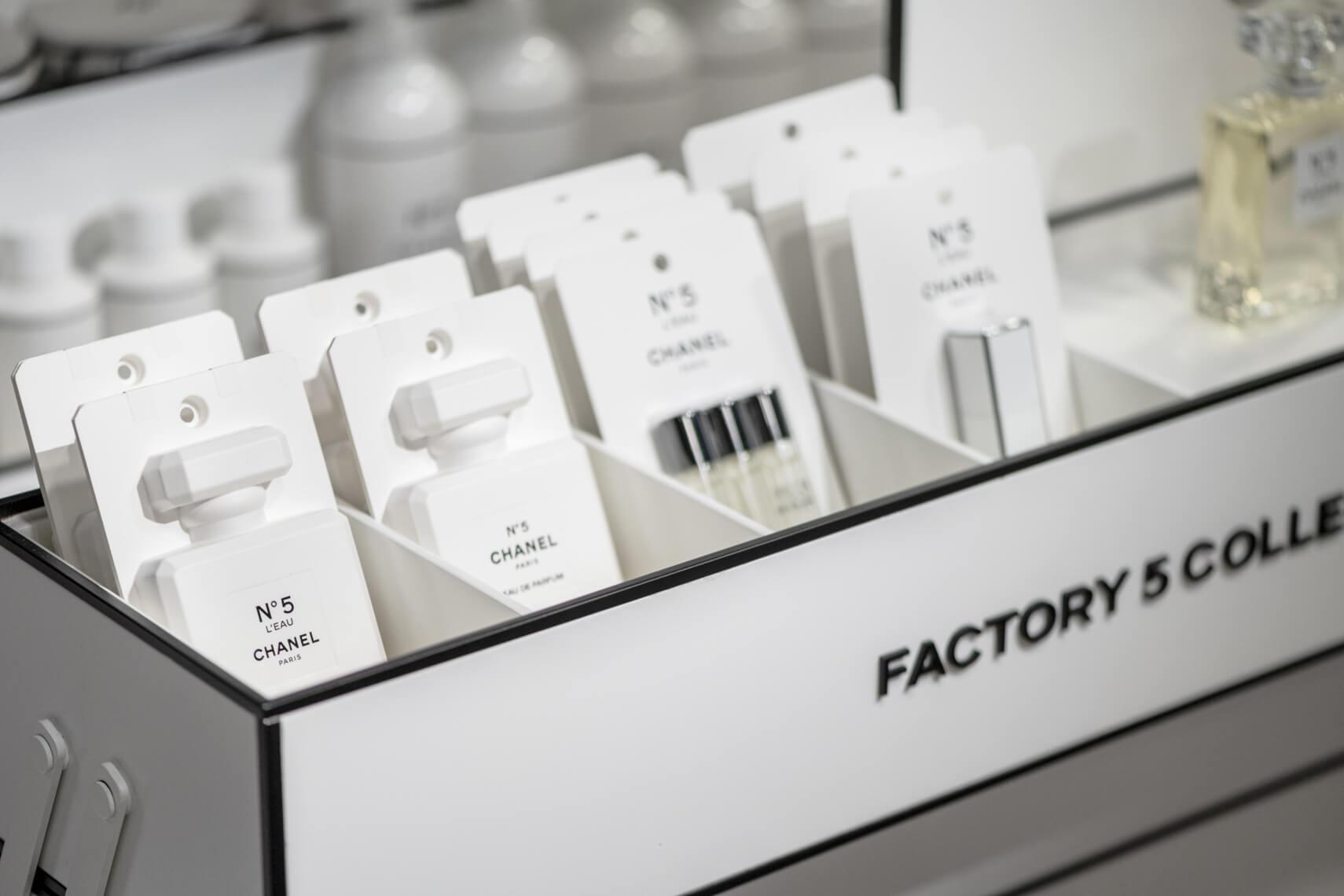 Kultowa N°5 kończy 100 lat - kolekcja Chanel Factory 5
